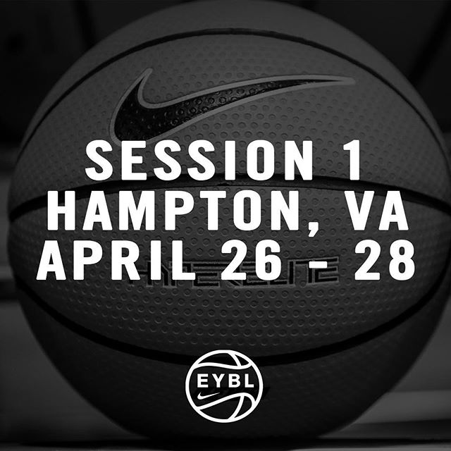 Session 1 Schedule. Link in the bio. #2019EYBL