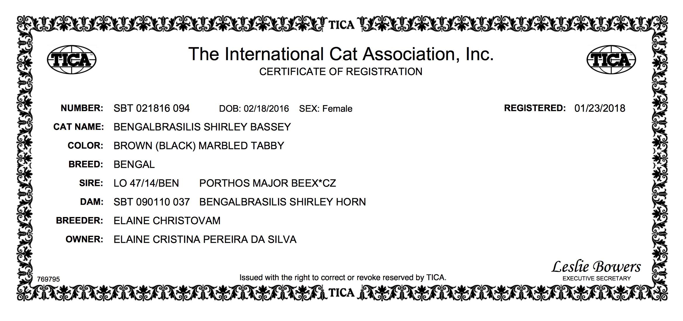 CERTIFICATE OF REGISTRATION Shirley Bassey.jpeg