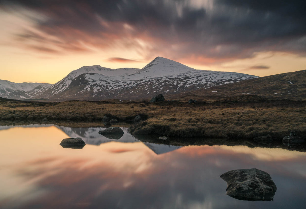 Afterglow, Ranoch Moor