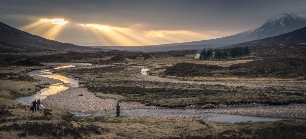 Proti slunci, Rannoch Moor