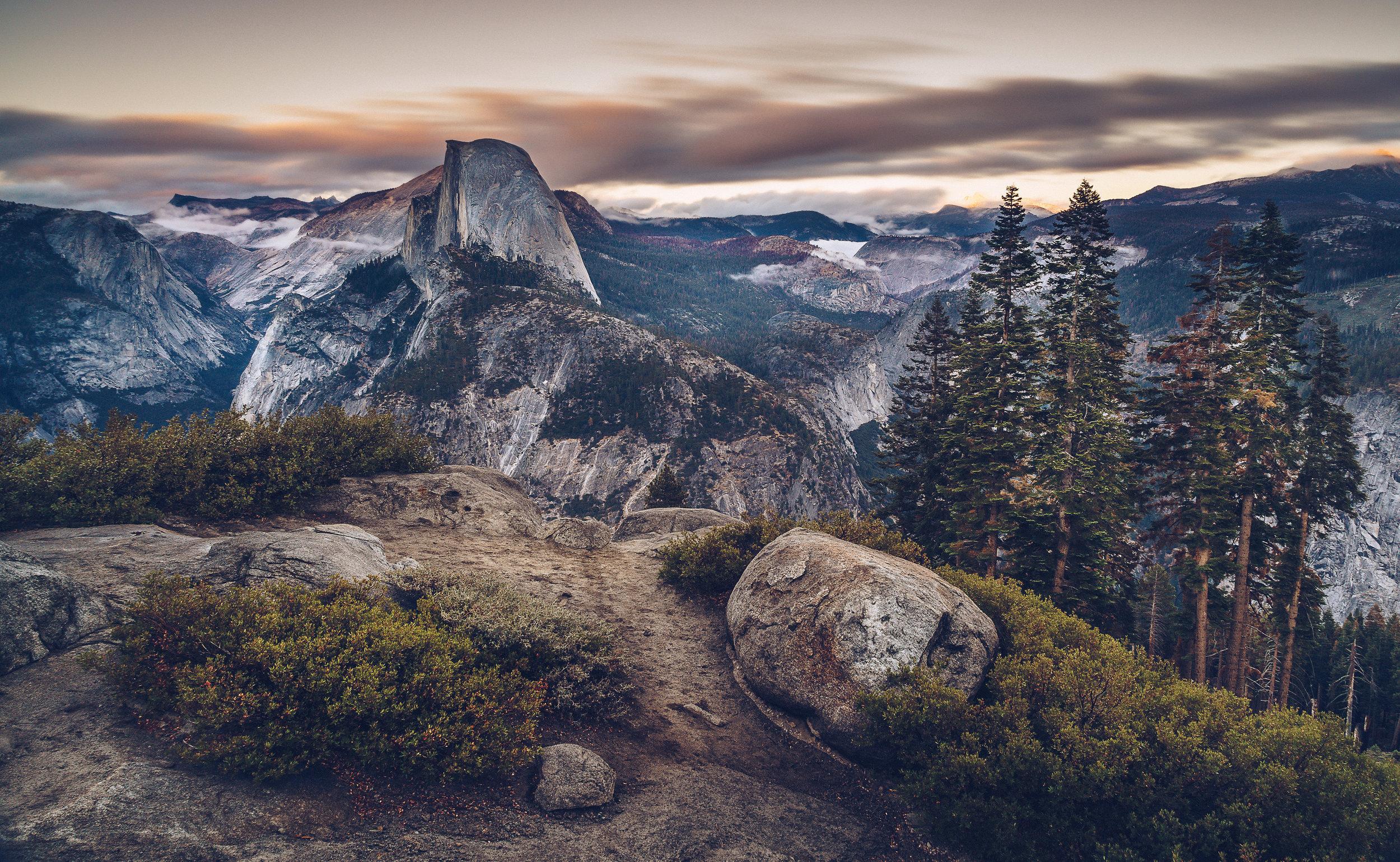 Half Dome from Glacier Point | Yosemite