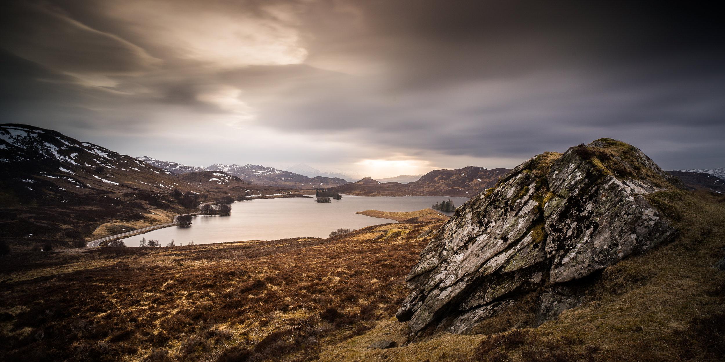 Loch Tarff, Scottish highlands
