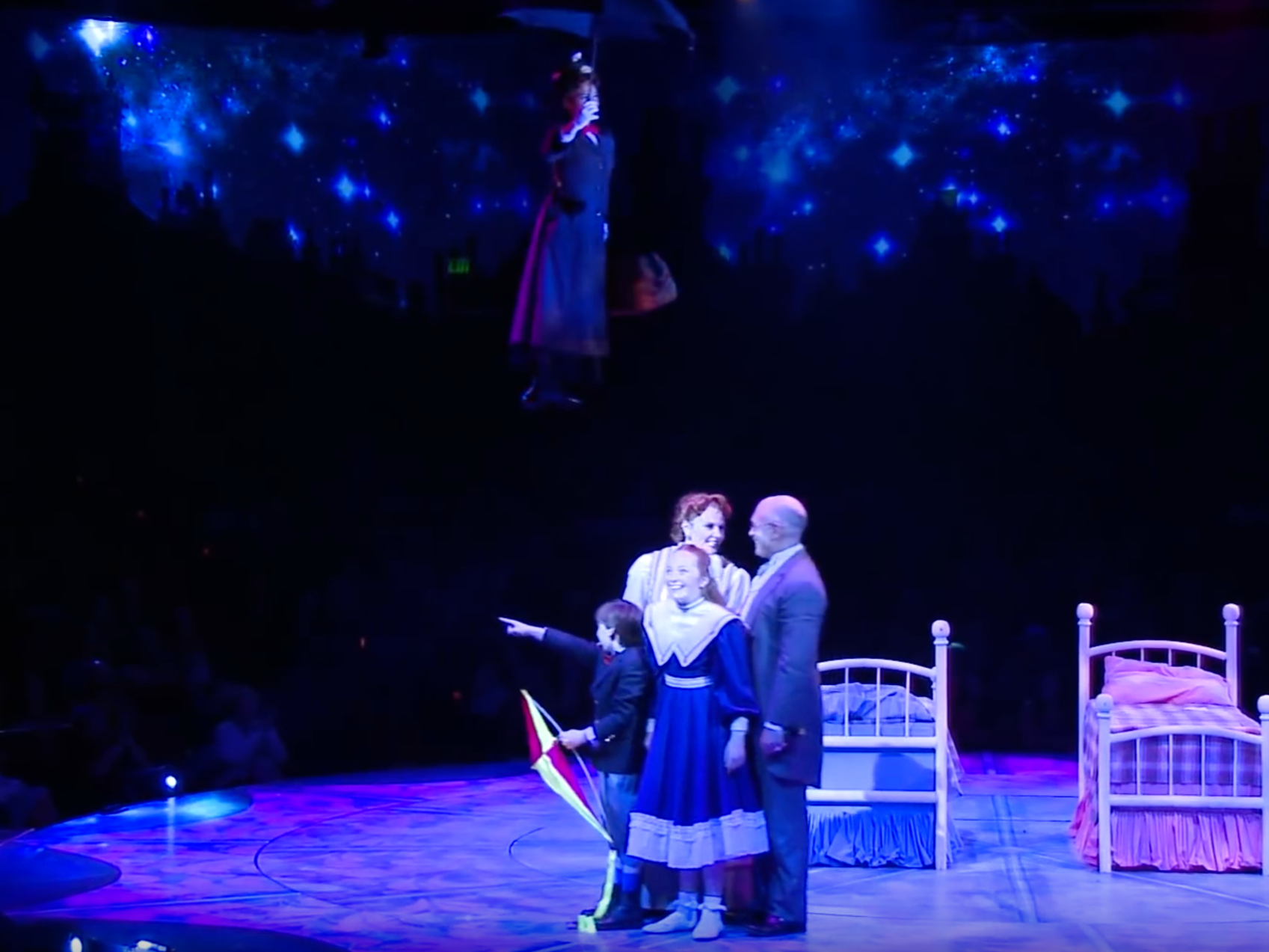 A Shooting Star,  Mary Poppins , North Shore Music Theatre, 2016