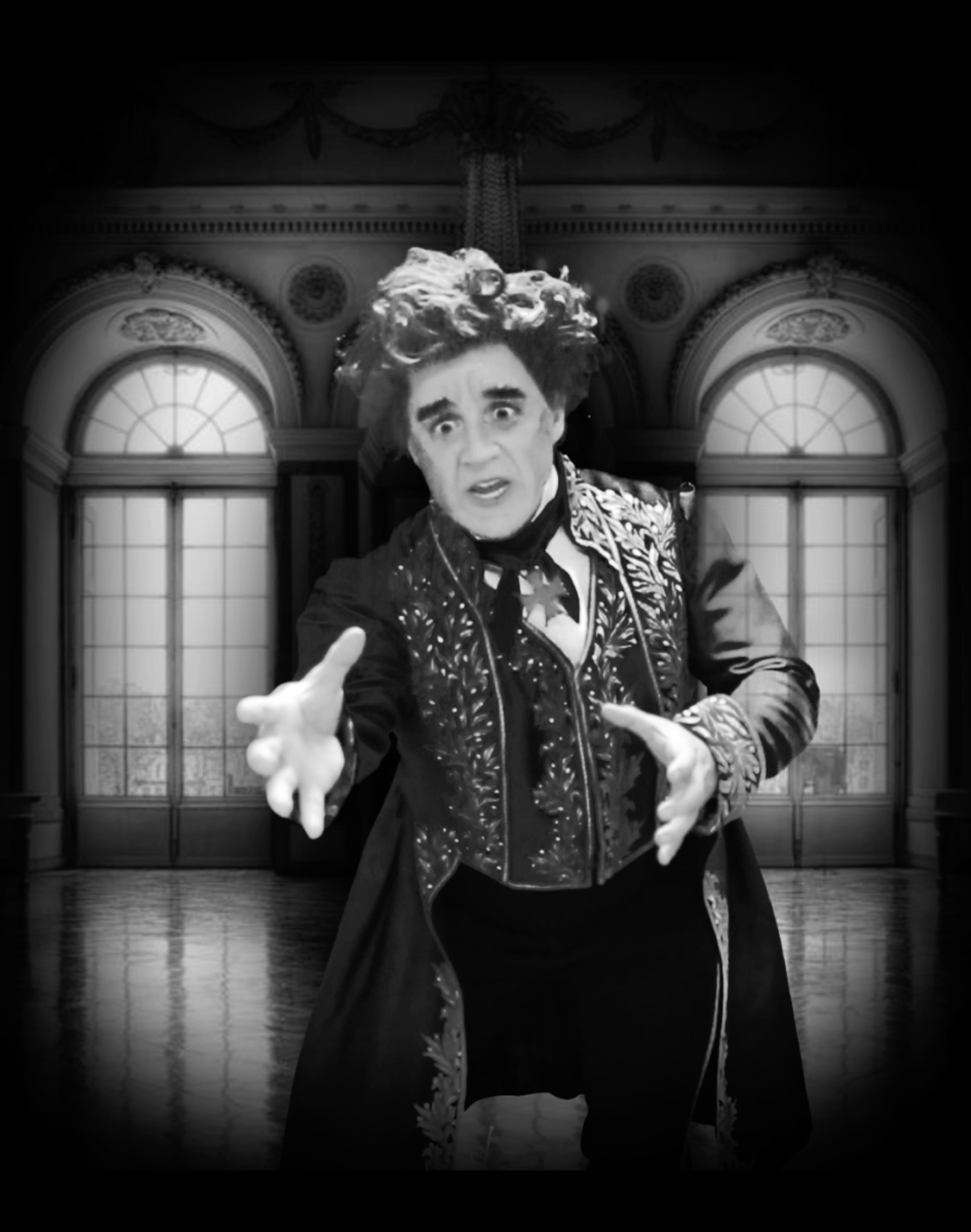 Portrait Gag w/ Matthew Chappell as Victor Frankenstein in  Young Frankenstein  at North Shore Music Theatre
