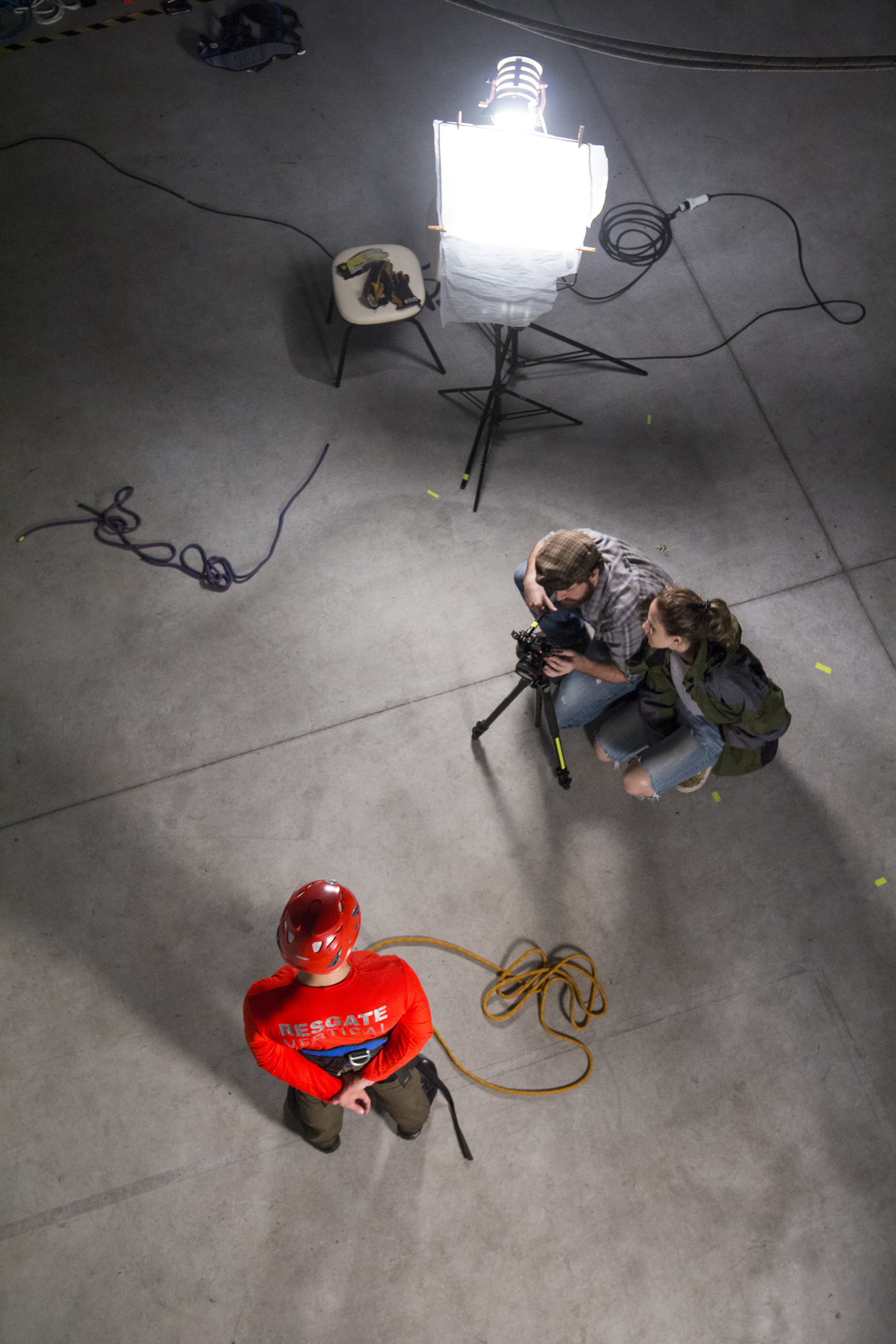 Set de Resgate Vertical. Foto: Luara Stollmeier
