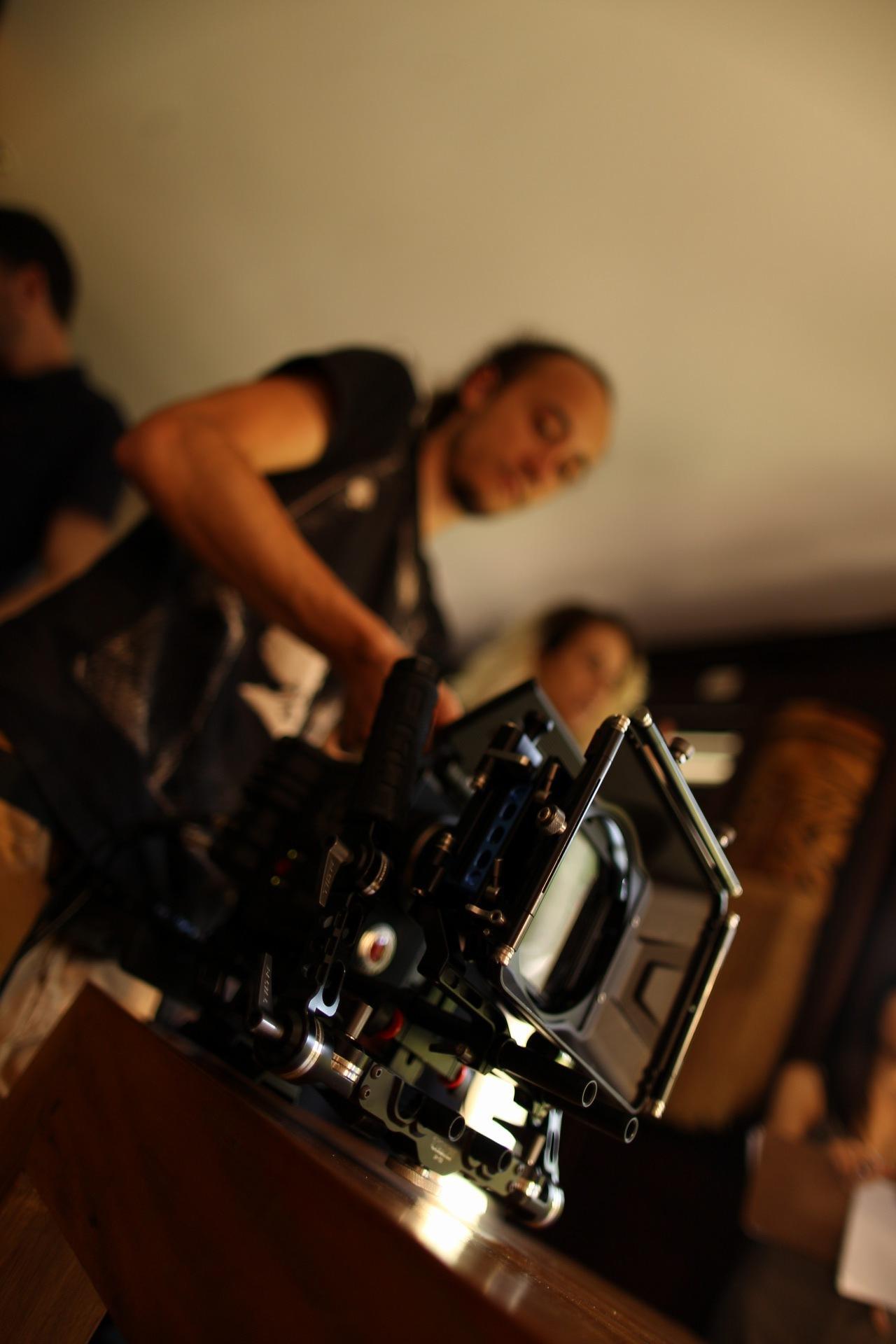 Fotos de backstage das gravações para a Hemmer Alimentos.