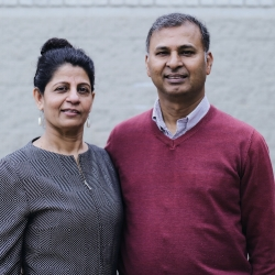 Faustin & Marina Fernando  Lead Pastors