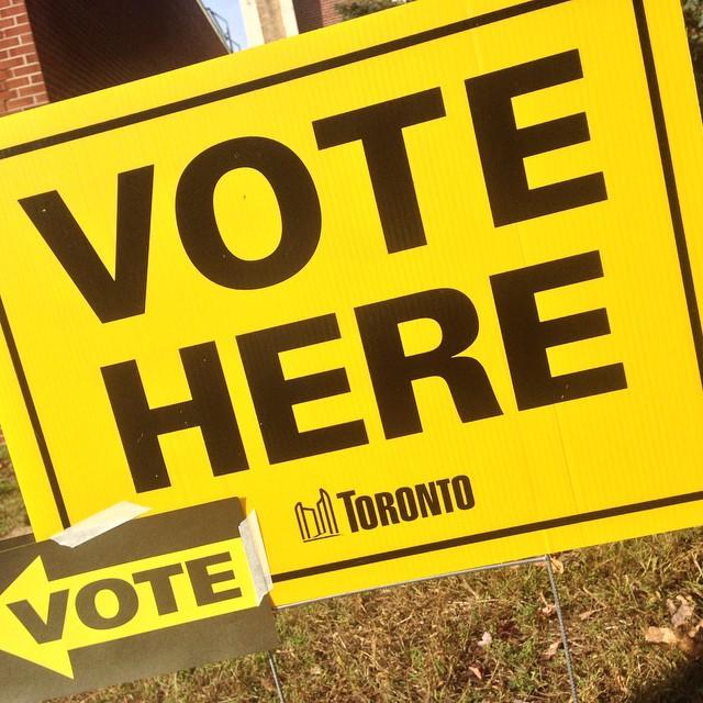 Vote here! Vote!