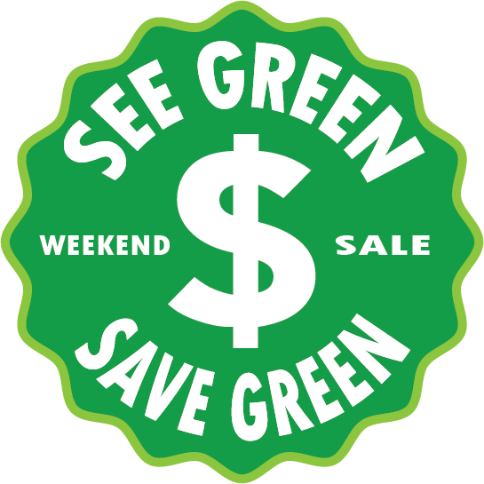 SEE GREEN SAVE GREEN
