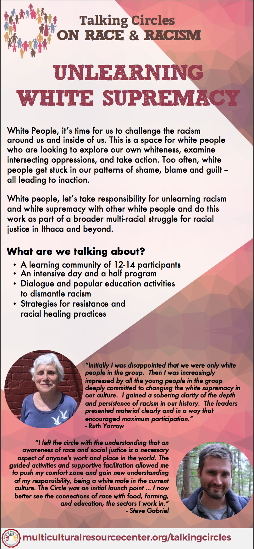 Talking Circles — Multicultural Resource Center
