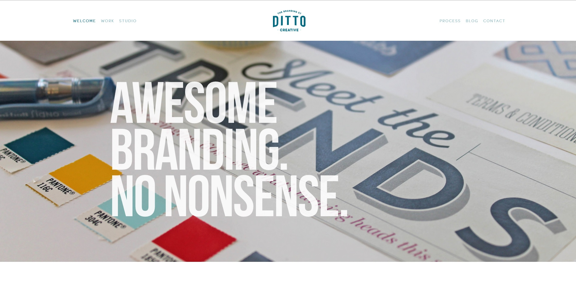 Ditto Creative design and branding agency Kent website design