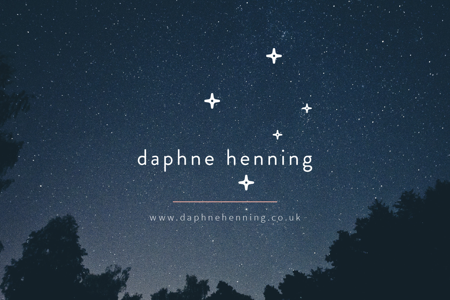 Daphne Henning transformative life coach logo design and branding by Ditto Creative brand stylists Kent