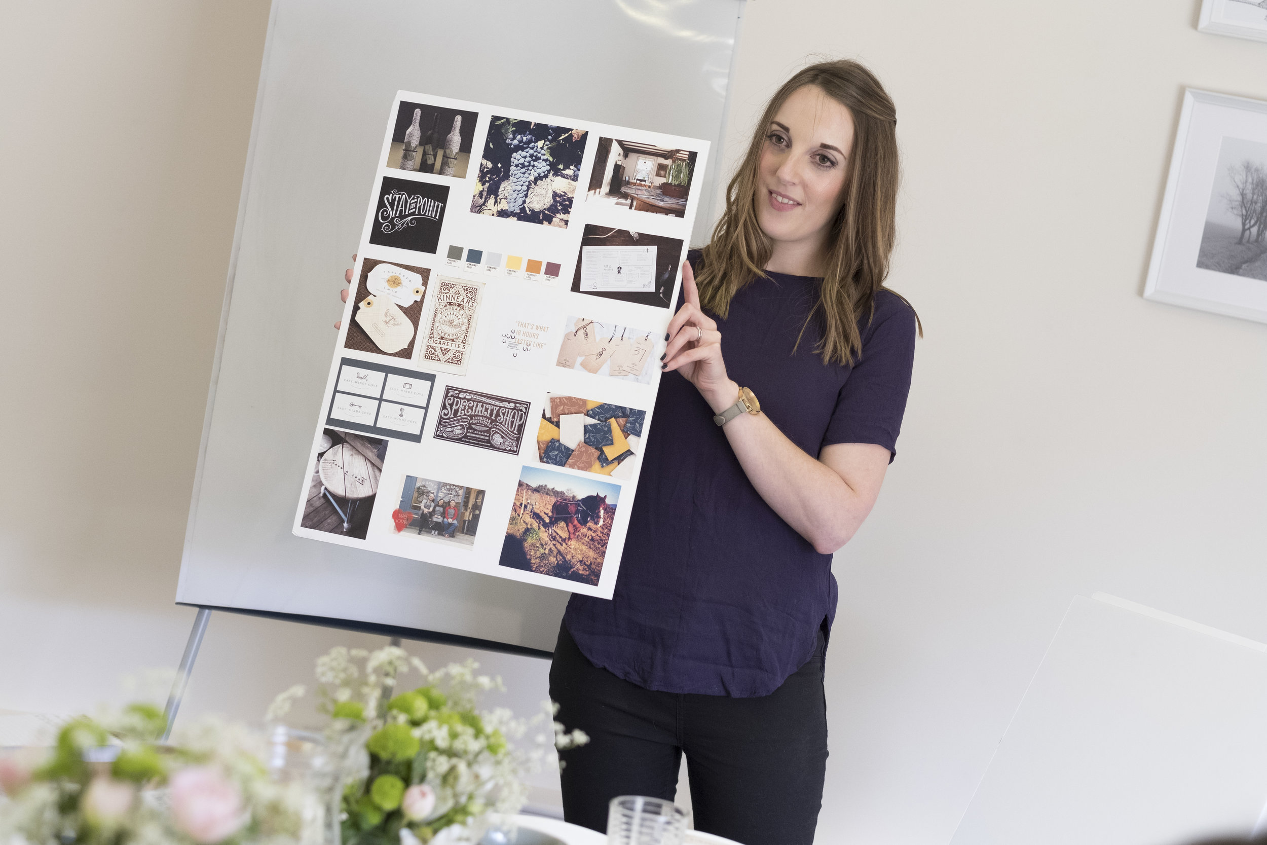 Clarity and Confidence branding workshop by Hannah Belton and Ditto Creative, branding agency Kent