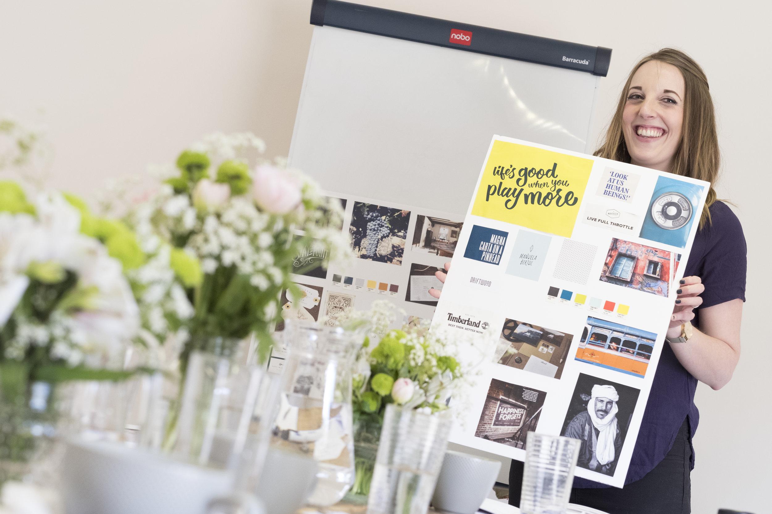 Hannah Belton, Ditto Creative, brand clarity workshop, branding agency Kent