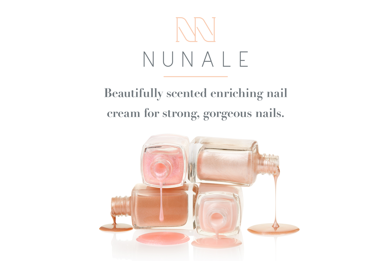 NuNale logo design, brand identity and packaging design by Ditto Creative, branding agency Kent