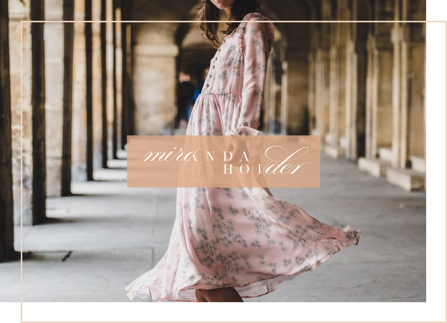 Miranda Holder London, high end fashion styling and personal stylist. Logo design and brand identity by Ditto Creative, branding agency Kent