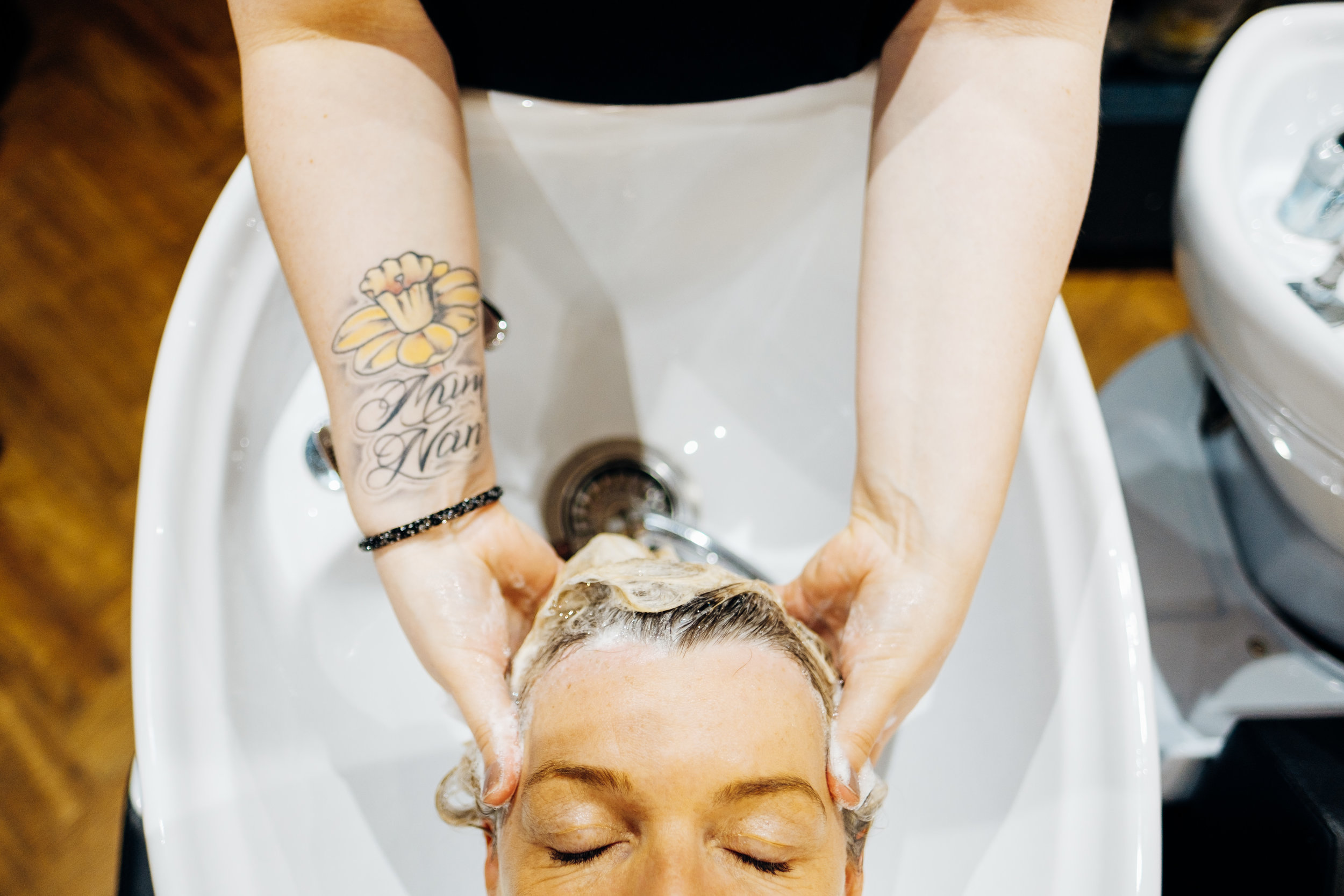 Tribe hair salon Chislehurst, photo by Marianne Chua