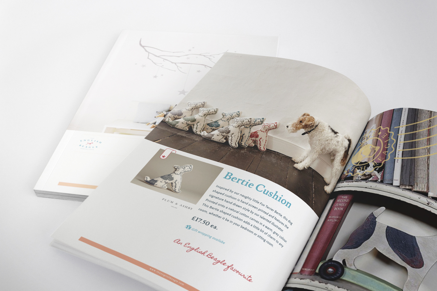 The English Beagle logo design by Ditto Creative, branding agency in Kent