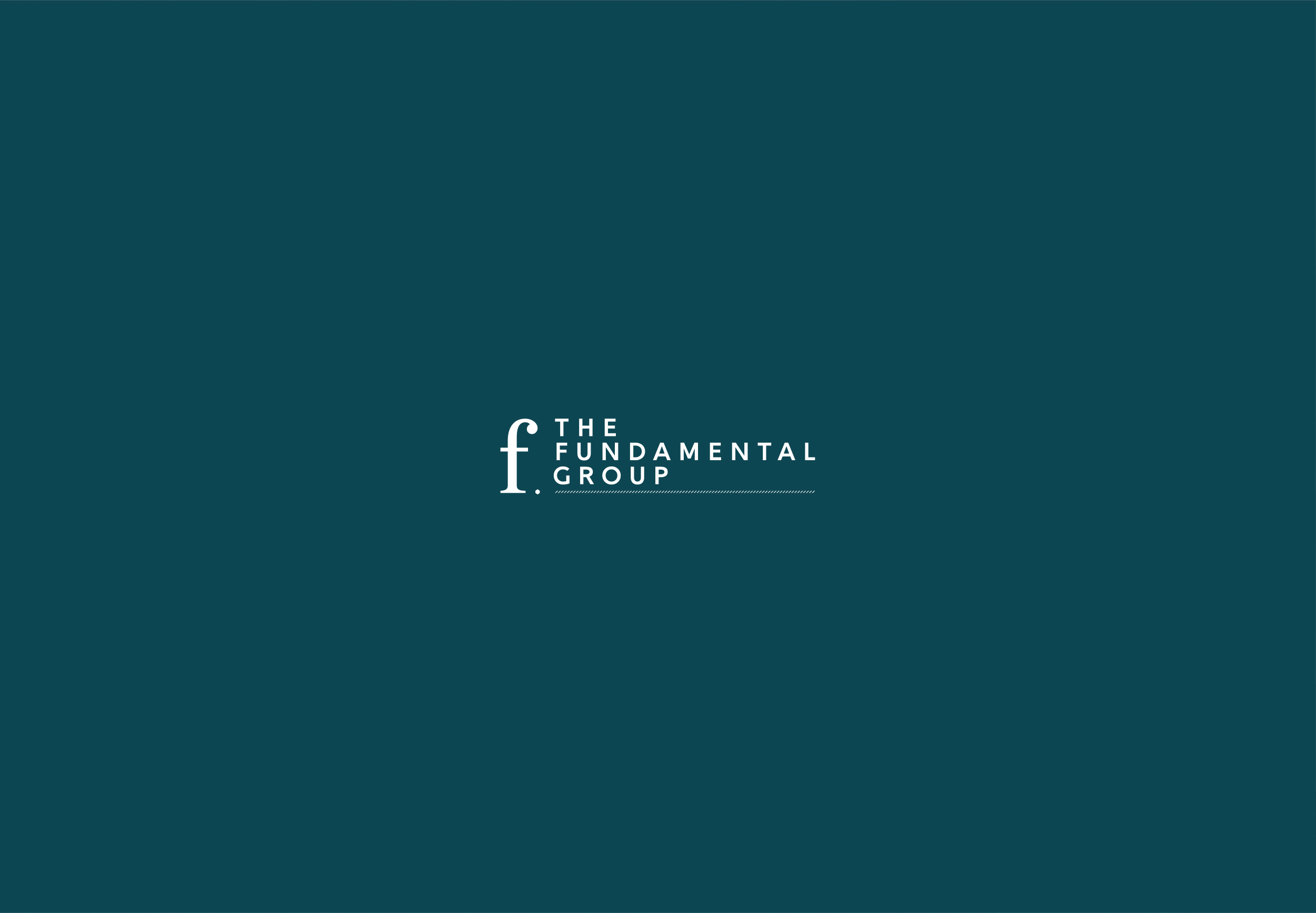 Brand board for The Fundamental Group wealth advisors, logo design and brand identity by Ditto Creative, branding agency Kent