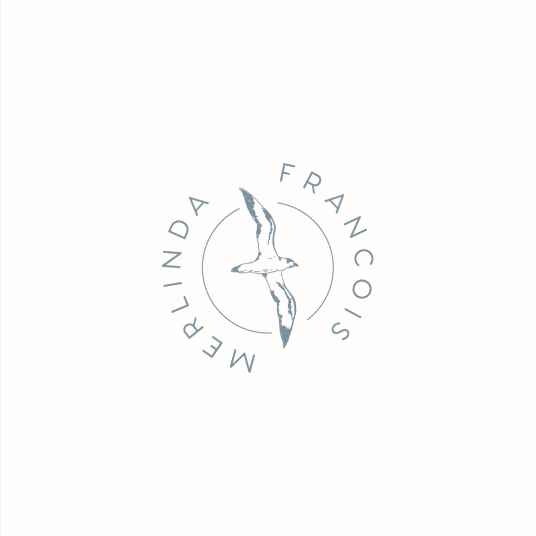 Merlinda Francois logo design by Ditto Creative | boutique branding agency in Kent | Logo design and brand identity for small businesses