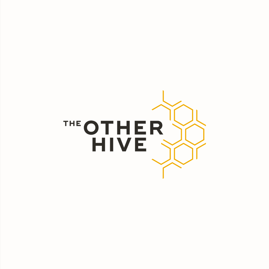 The Other Hive logo design by Ditto Creative | boutique branding agency in Kent | Logo design and brand identity for small businesses