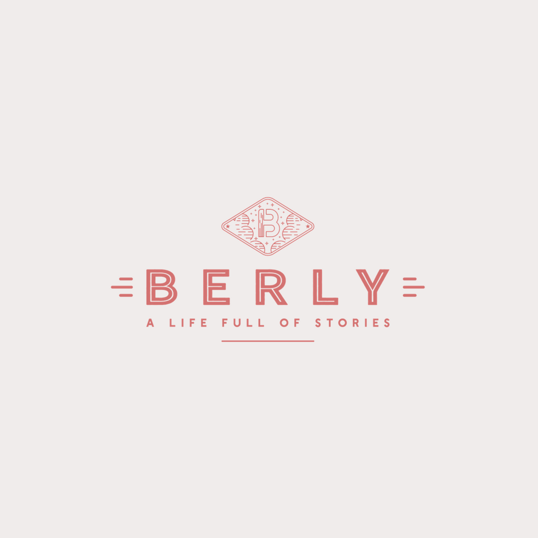 Berly logo design by Ditto Creative | boutique branding agency in Kent for small businesses