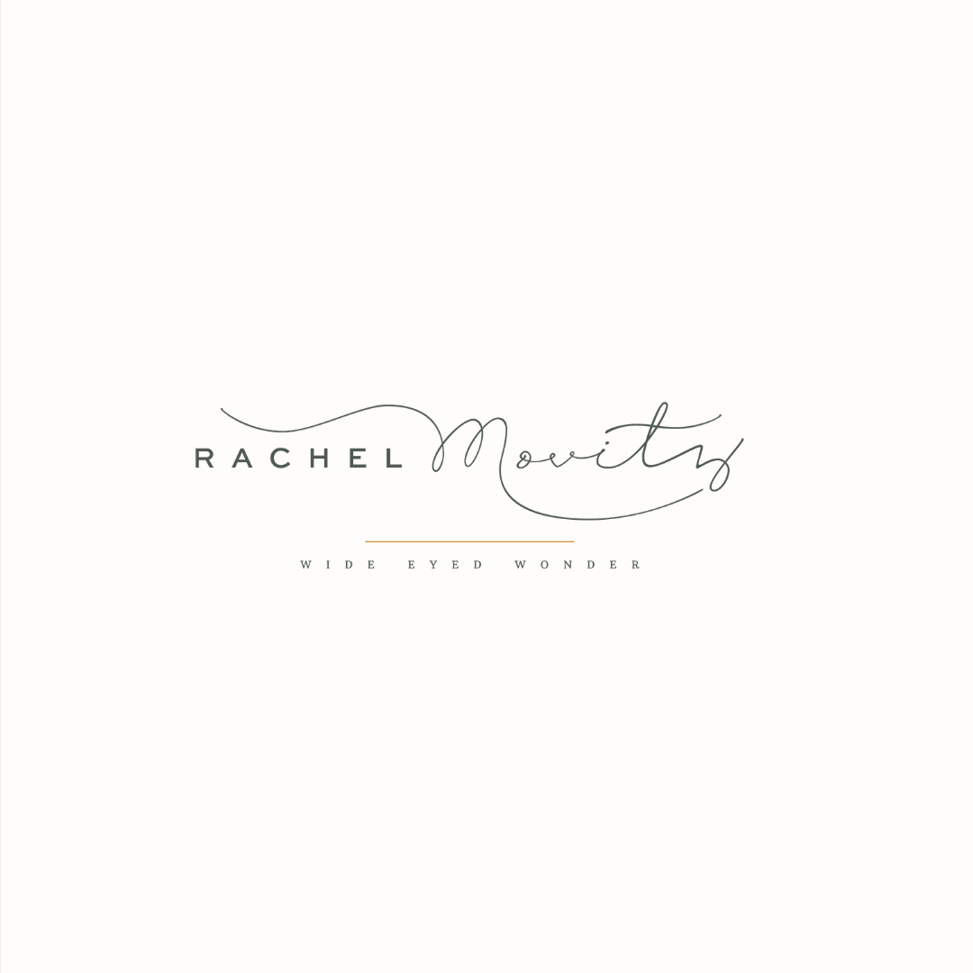 Rachel Movitz wedding photography logo design by Ditto Creative | boutique branding agency in Kent for small businesses
