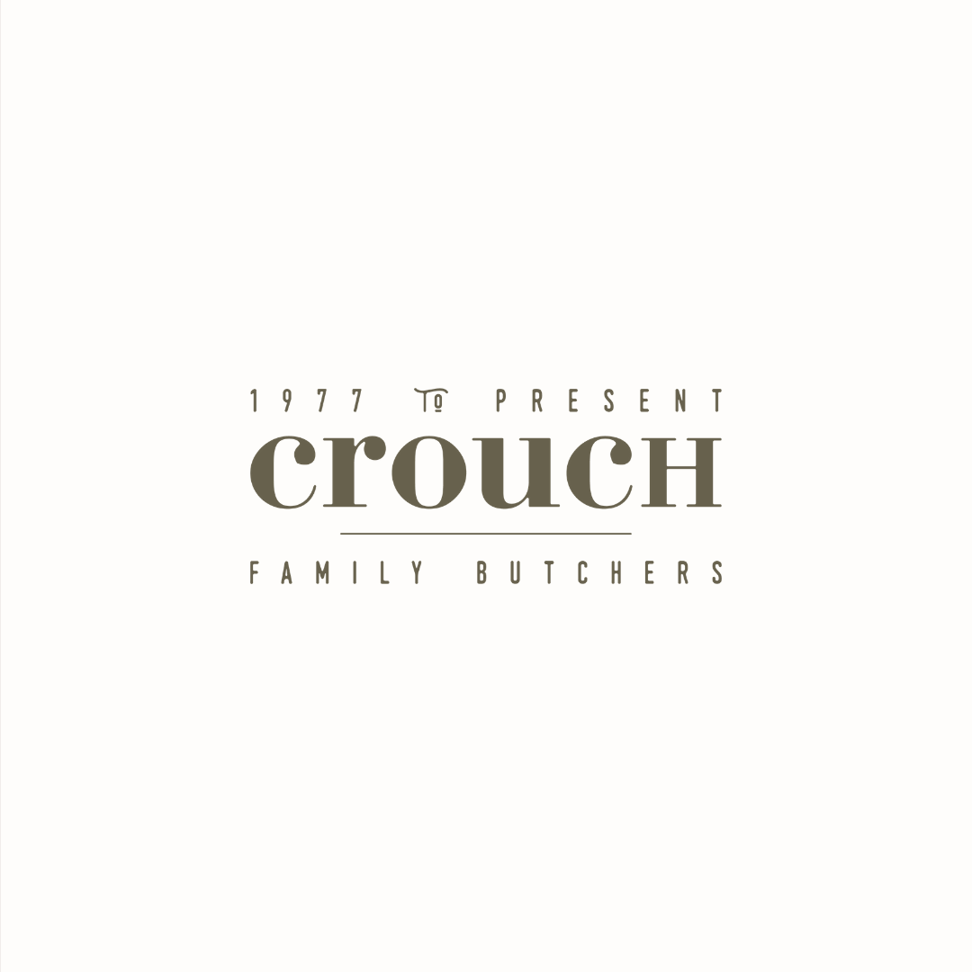 Crouch Kentish butchers logo design and brand identity by Ditto Creative | boutique branding agency in Kent for small businesses