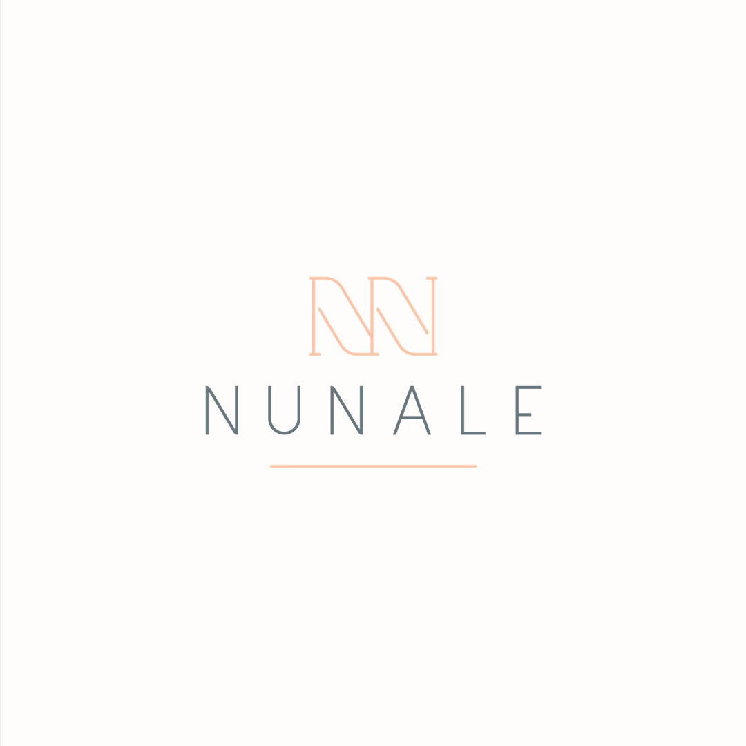 NuNale logo design and brand identity by Ditto Creative   boutique branding agency in Kent for small businesses