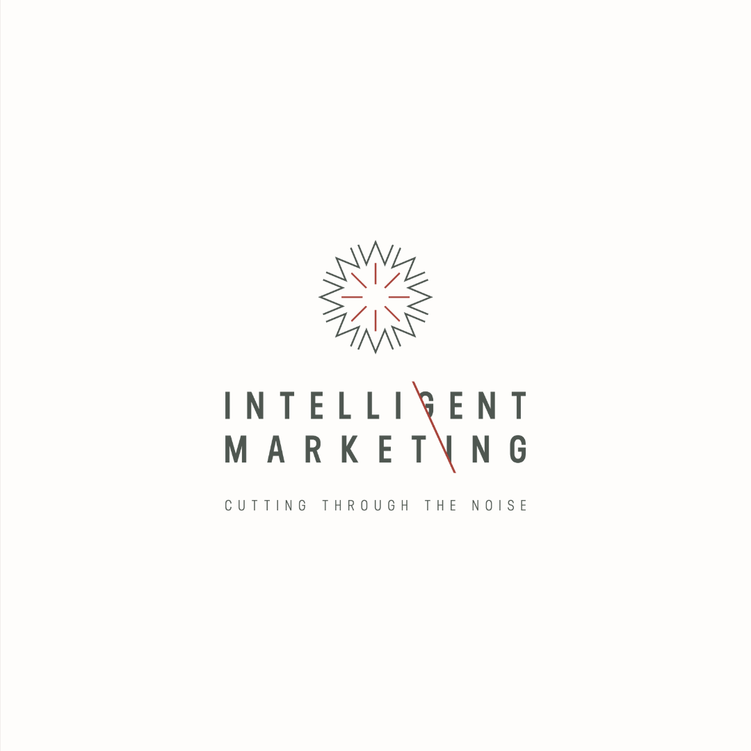 Intelligent Marketing logo design and brand identity by Ditto Creative | boutique branding agency in Kent for small businesses
