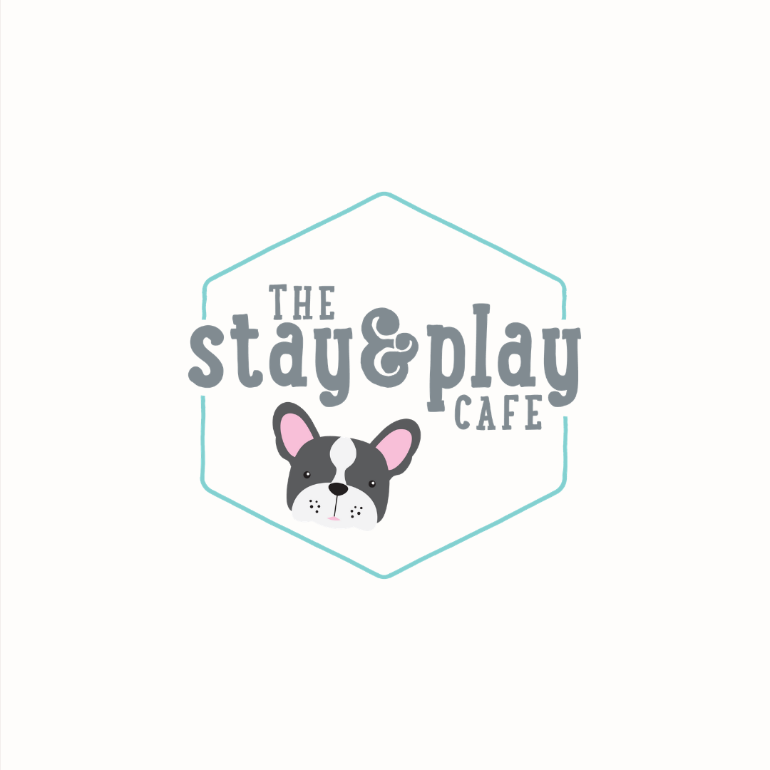 Stay and Play Cafe logo design and brand identity by Ditto Creative | boutique branding agency in Kent for small businesses