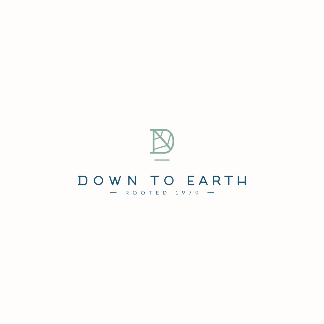 Down To Earth tree surgeons logo design and brand identity by Ditto Creative   boutique branding agency in Kent for small businesses