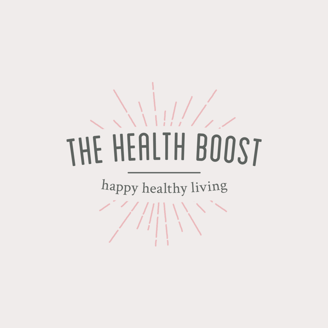 The Health Boost logo design and brand identity by Ditto Creative | boutique branding agency in Kent for small businesses