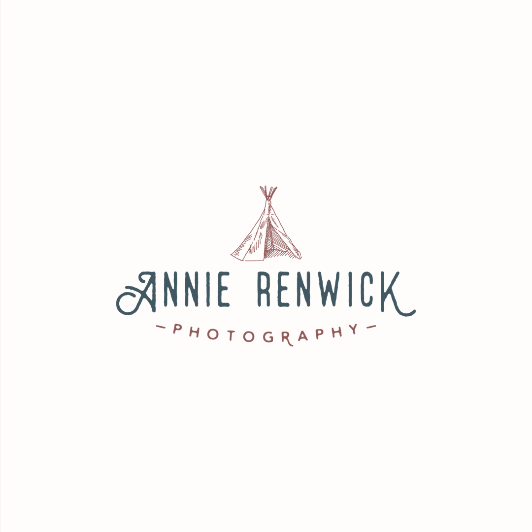 Annie Renwick photography logo design and brand identity by Ditto Creative | boutique branding agency in Kent for small businesses