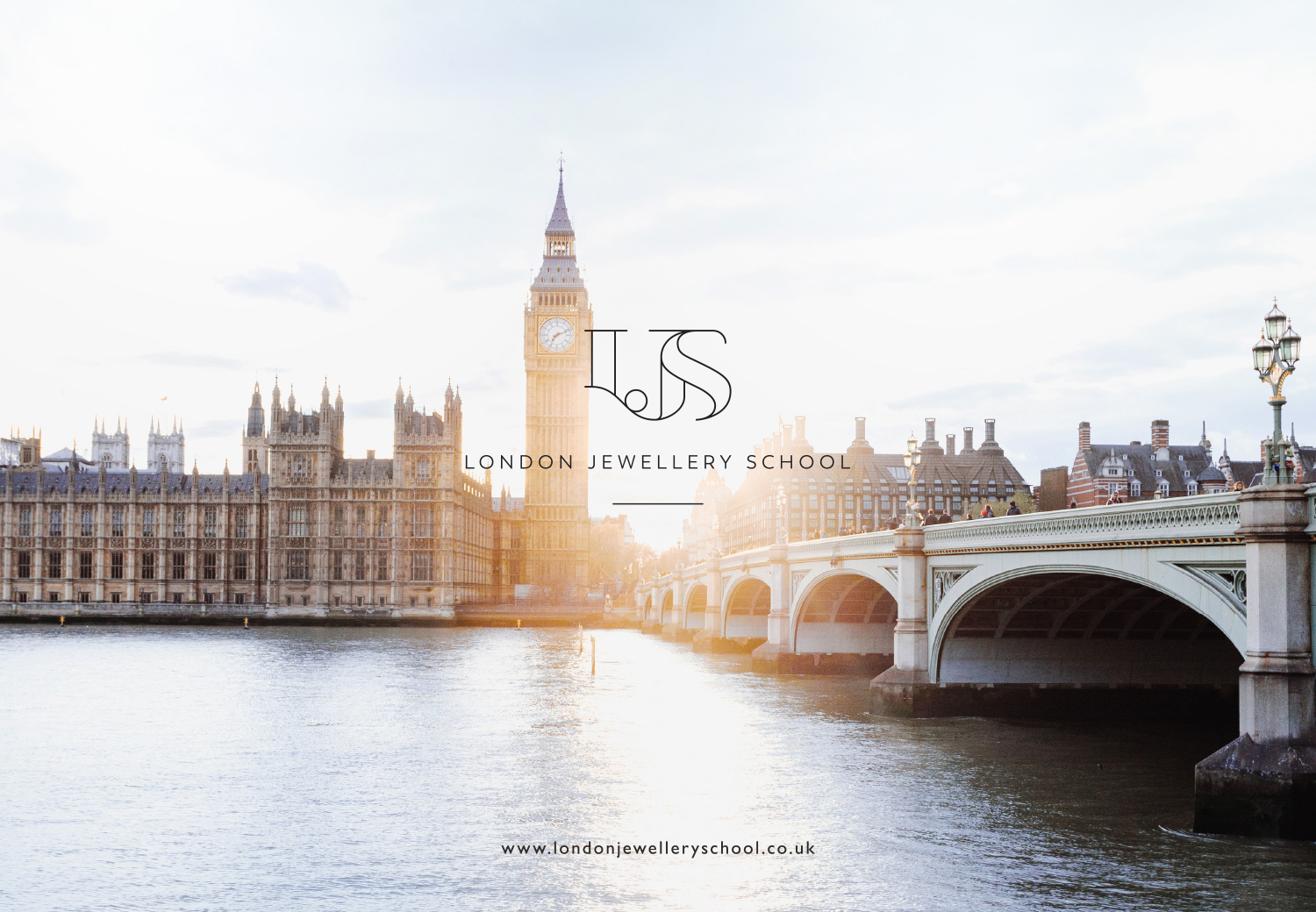 London Jewellery School logo design and branding by Ditto Creative, branding agency for small businesses in Kent, UK