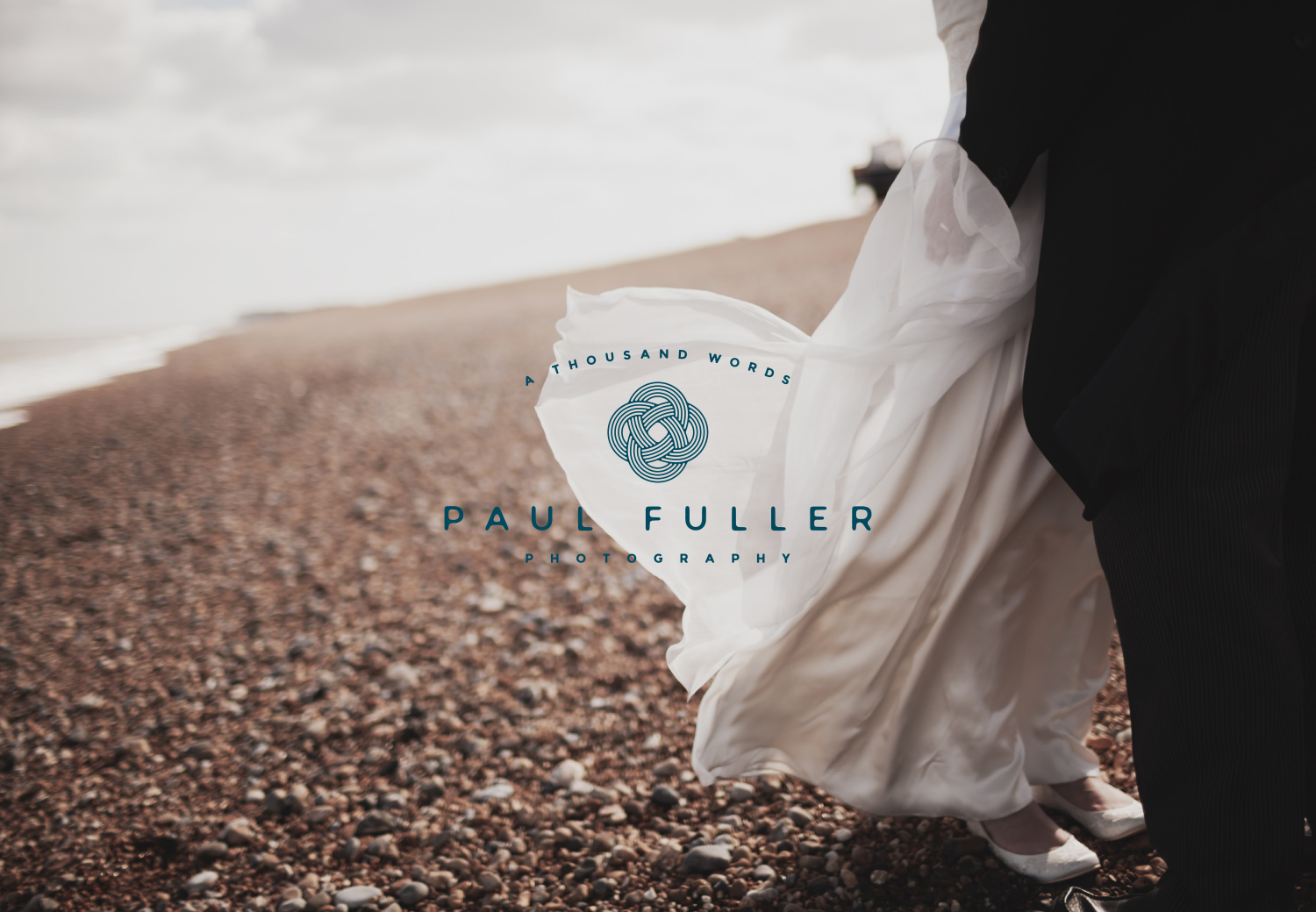 Paul Fuller Kent Wedding photographer logo design and brand identity by Ditto Creative, boutique branding agency in Kent