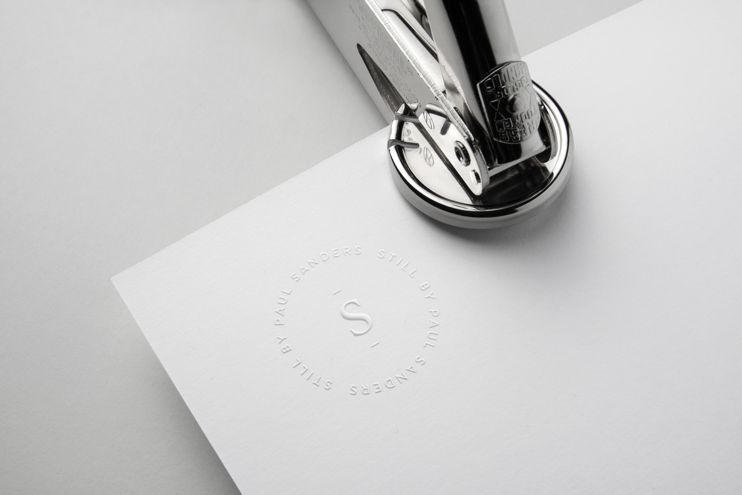 Still by Paul Sanders, logo design and brand identity by Ditto Creative, boutique branding agency Kent