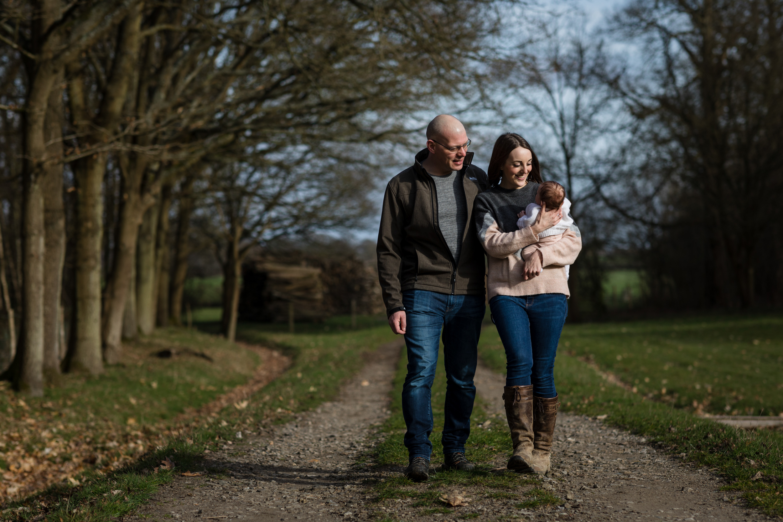 Hannah, Dan & Evie Family Shoot 02.03.19