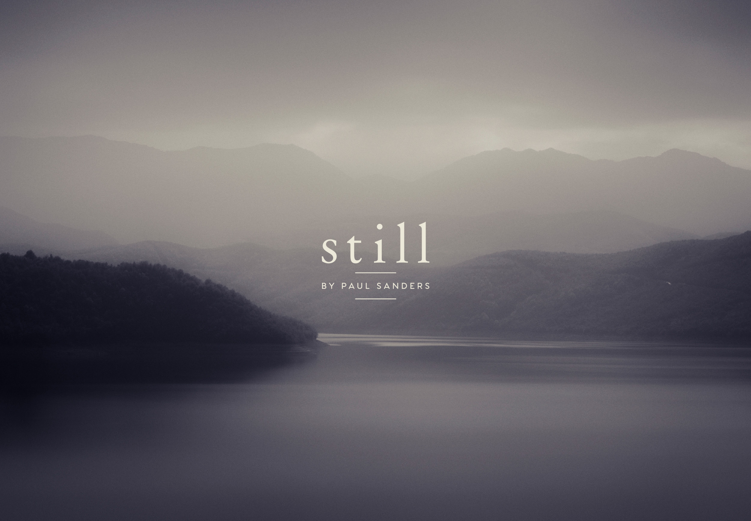 Still by Paul Sanders, logo design and branding by Ditto Creative, boutique branding agency kent
