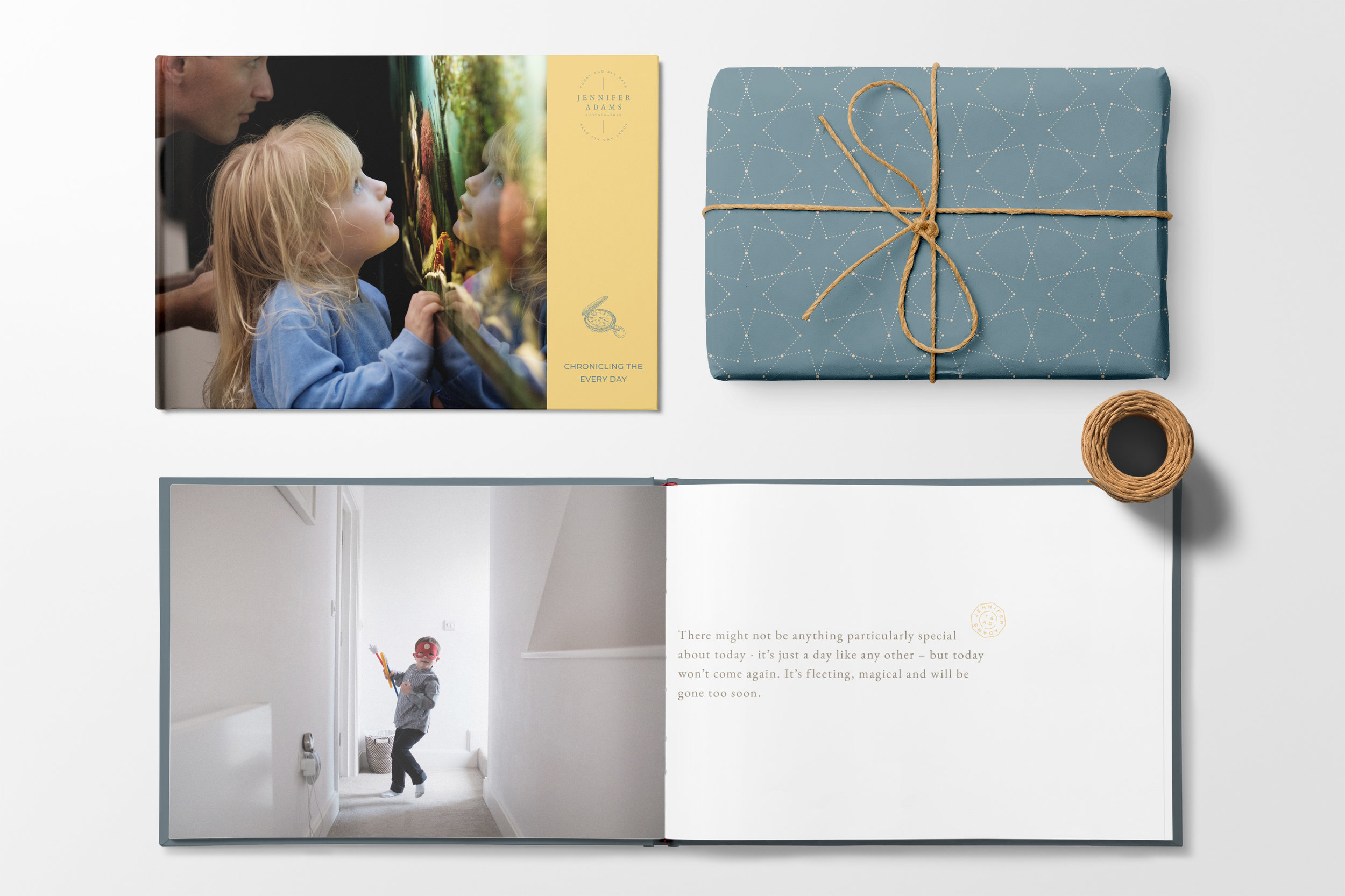 Jennifer Adams brand design by Ditto Creative, boutique branding agency Kent
