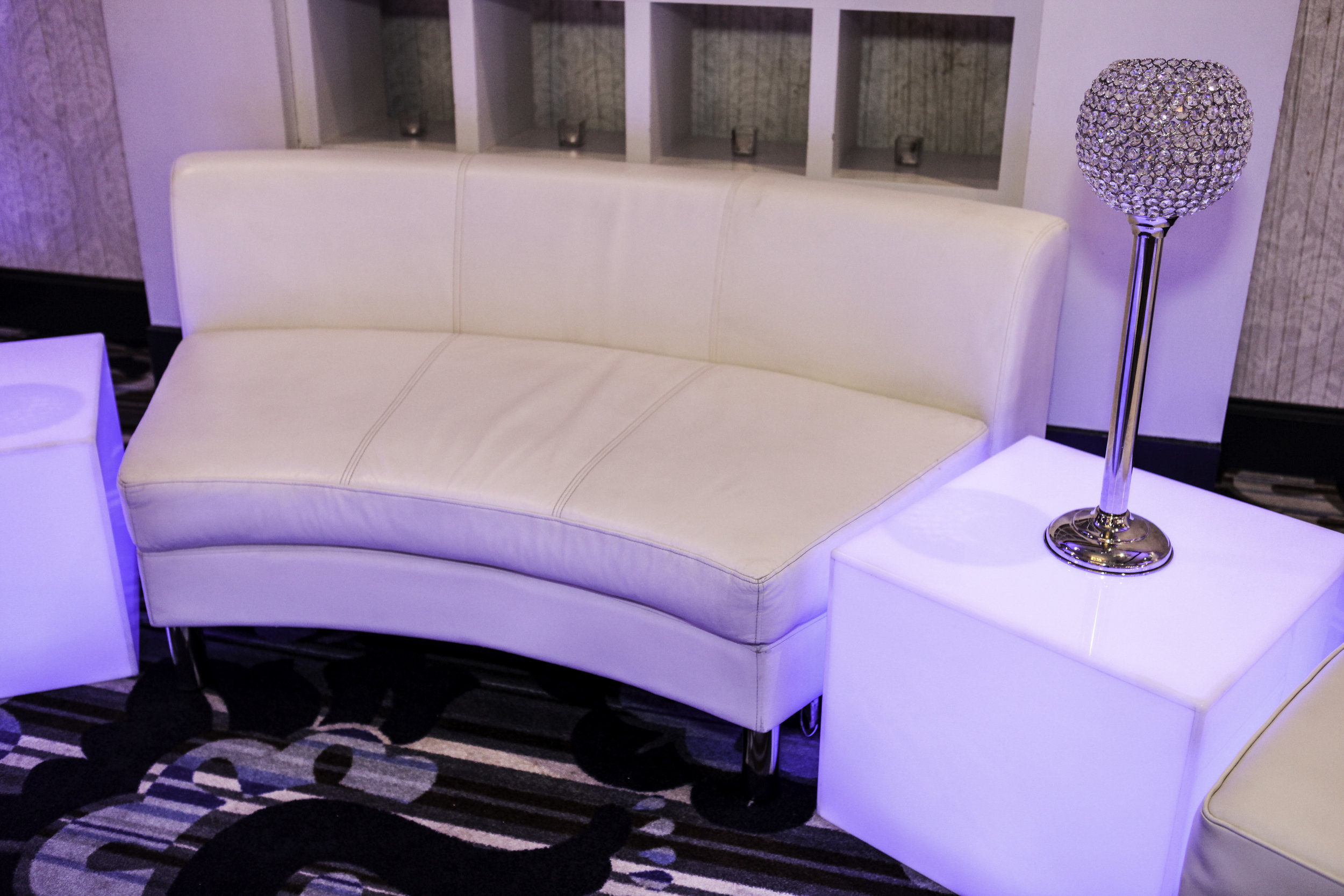 Lounge- Curved White Leather Bench_1.jpg