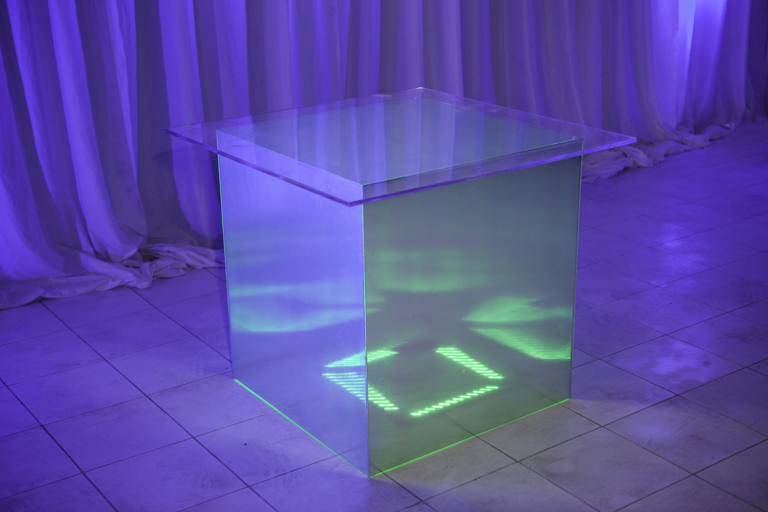 Table Base- Brushed Metal Wrapped_2.jpg