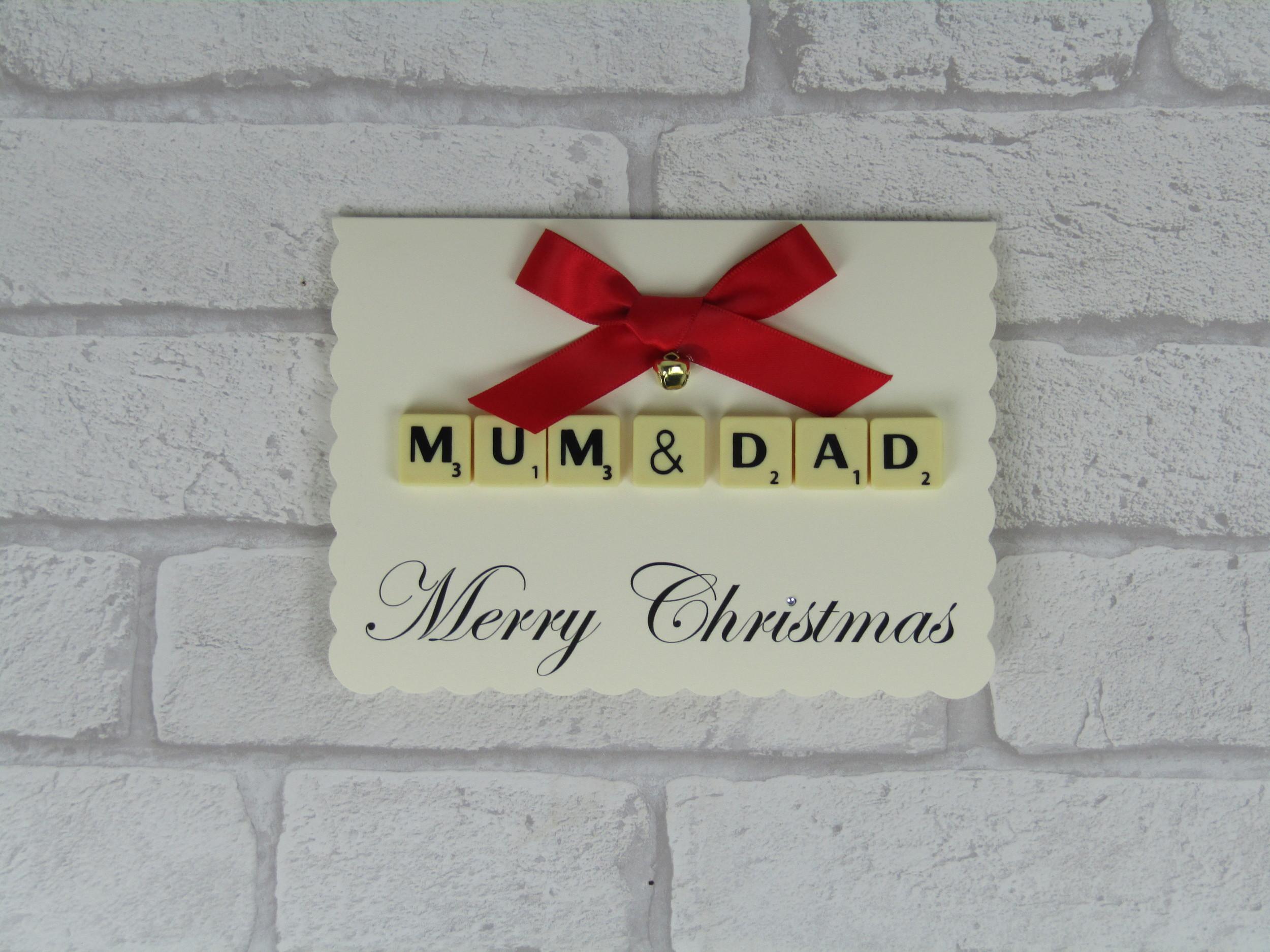 Mom & Dad Christmas Card
