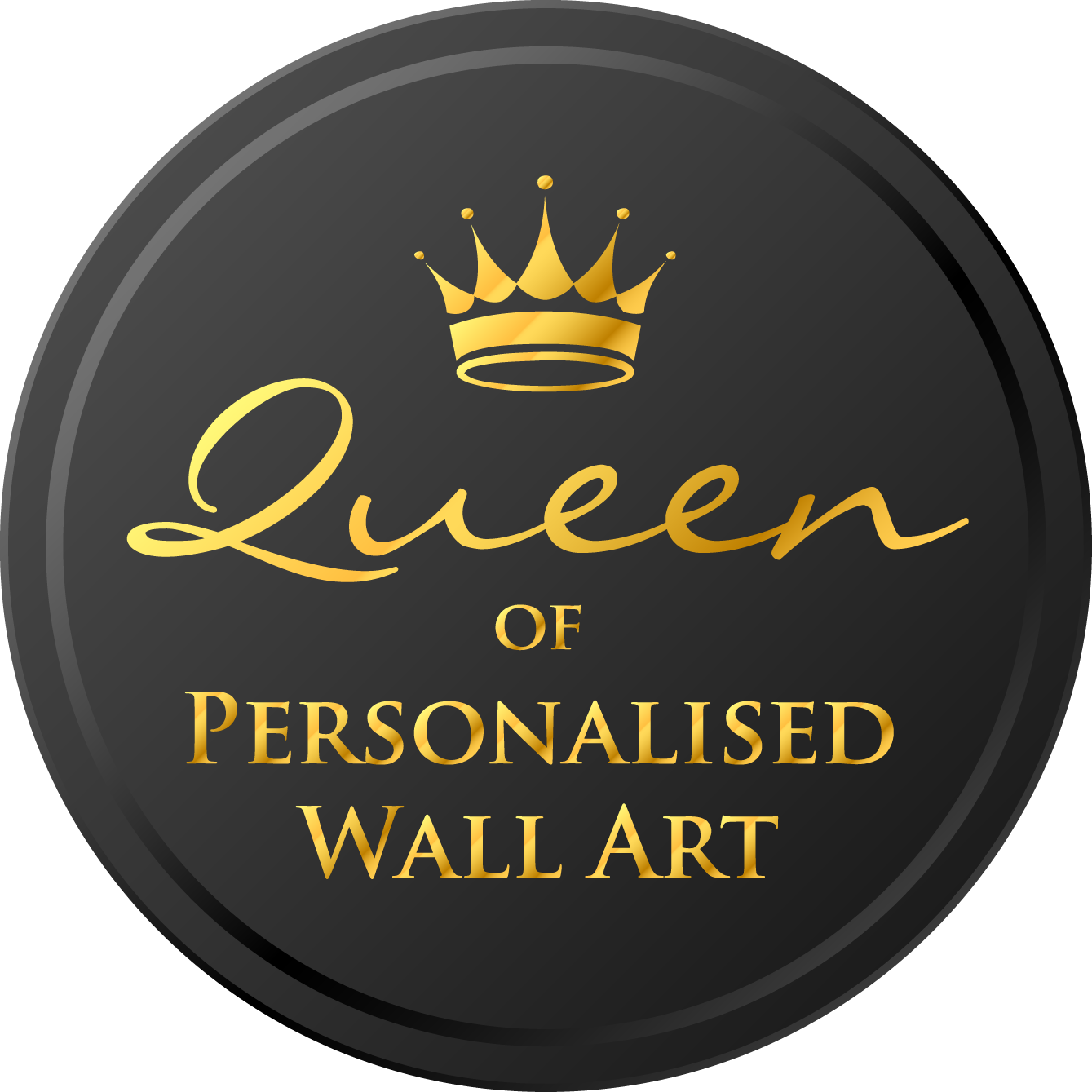 Queen Of Personalised & Handmade Wall Art