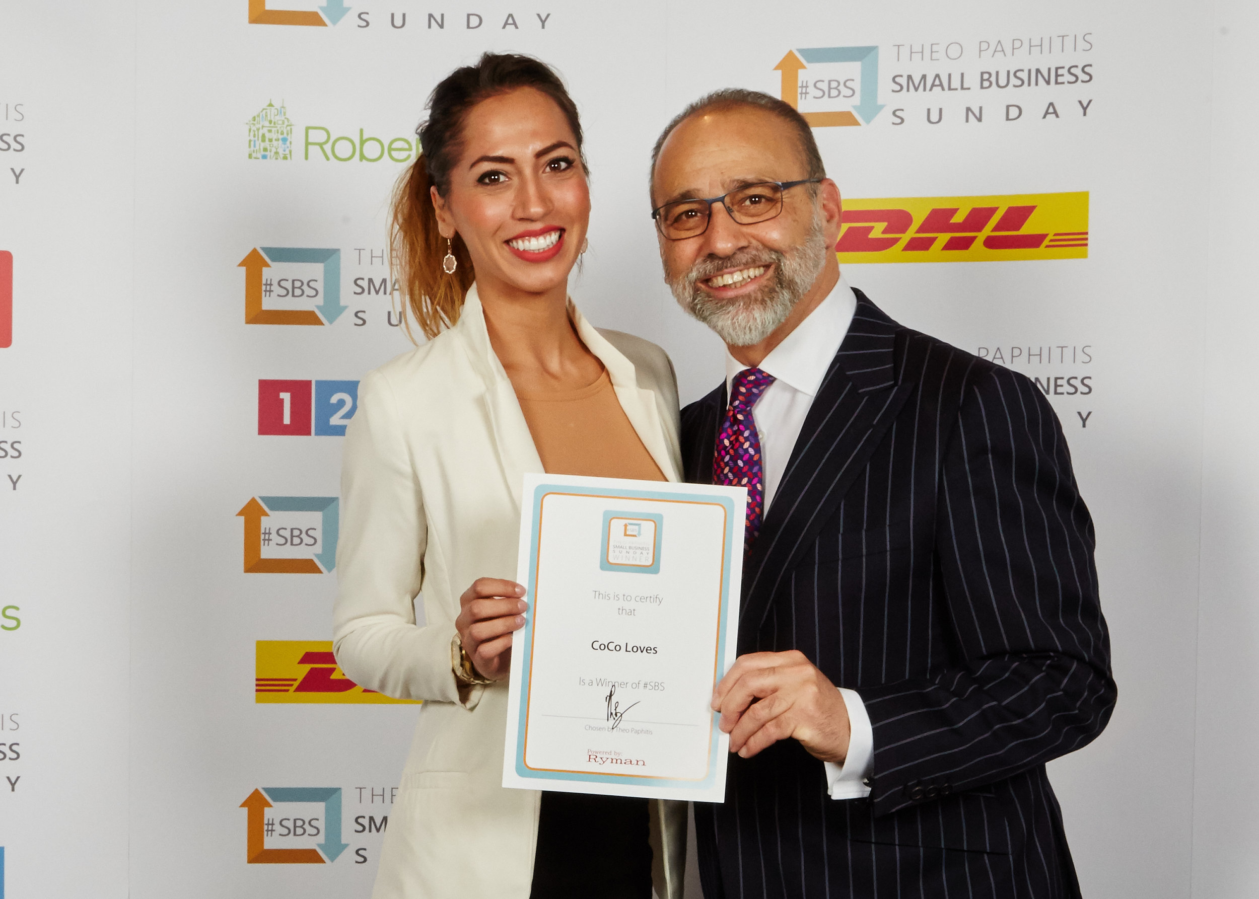 CoCo Loves & Theo Paphitis