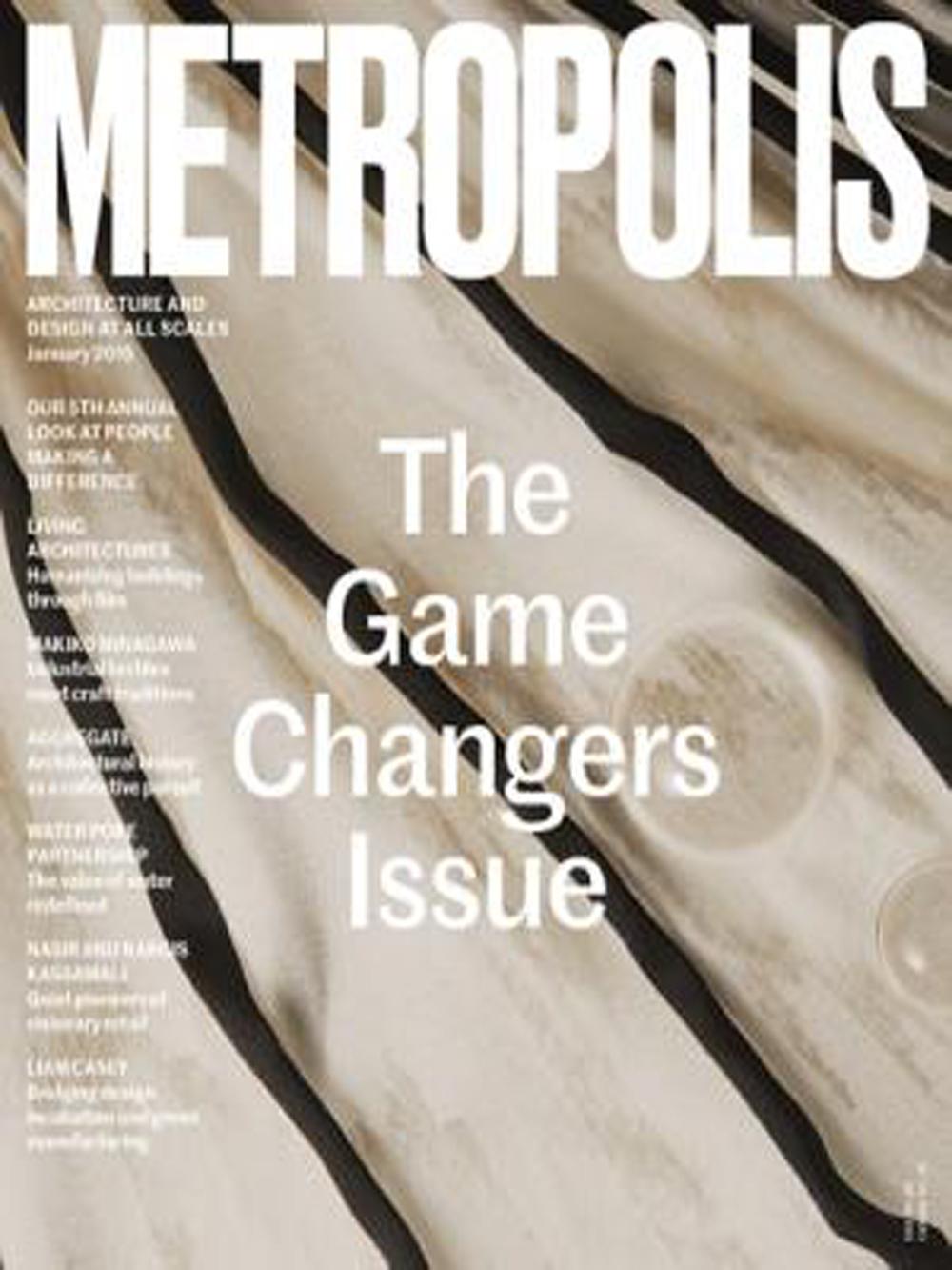 metropolis magazine - organic grid
