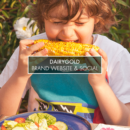 ...................................................................................................................................   yourdairygold.ie and the Dairygold Facebook pages bring to life the brand promise of convenience and versatility for busy mums.    VIEW THE VIDEO