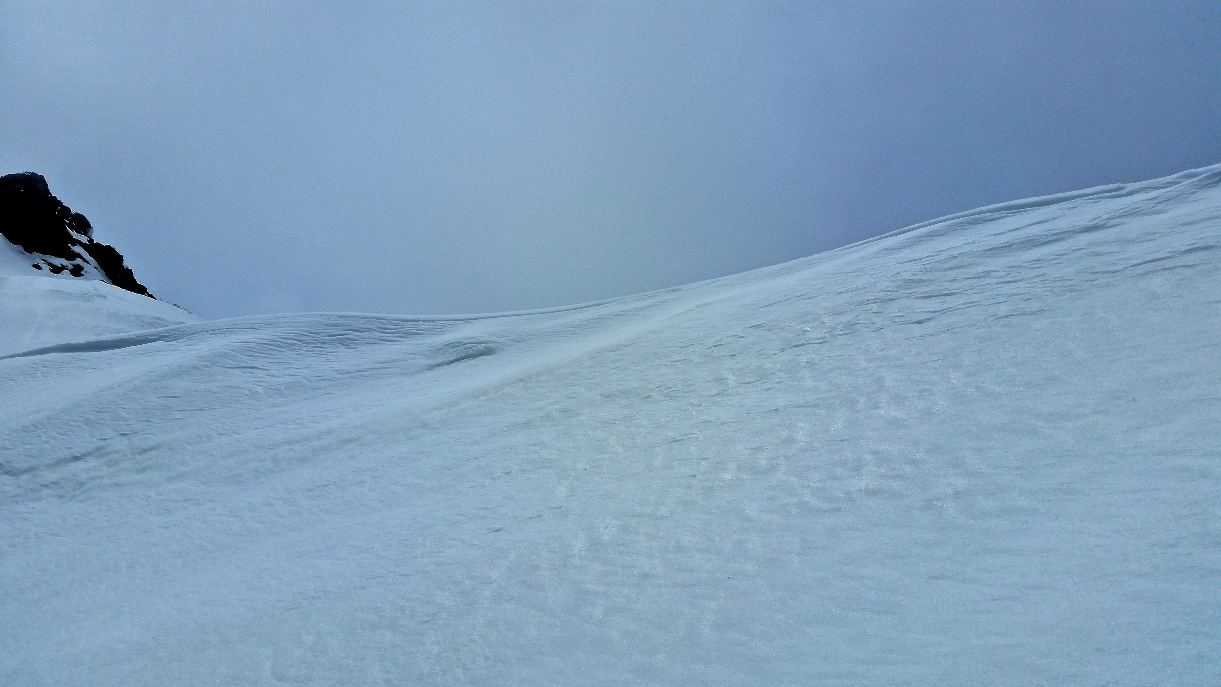 The 15ft Cornice at Blackrock Pass