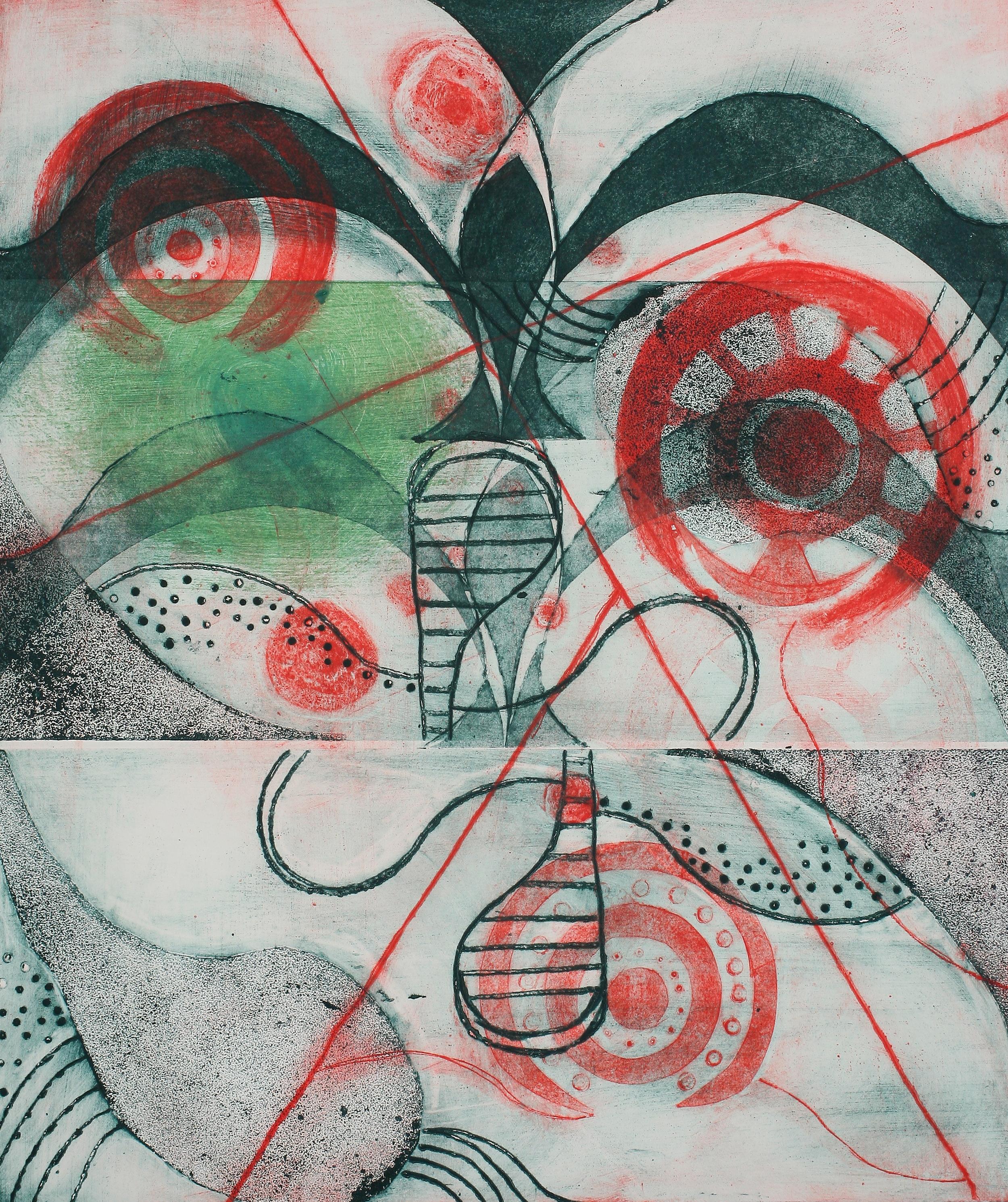 """""""Target"""", 20 x 23, Callograph"""