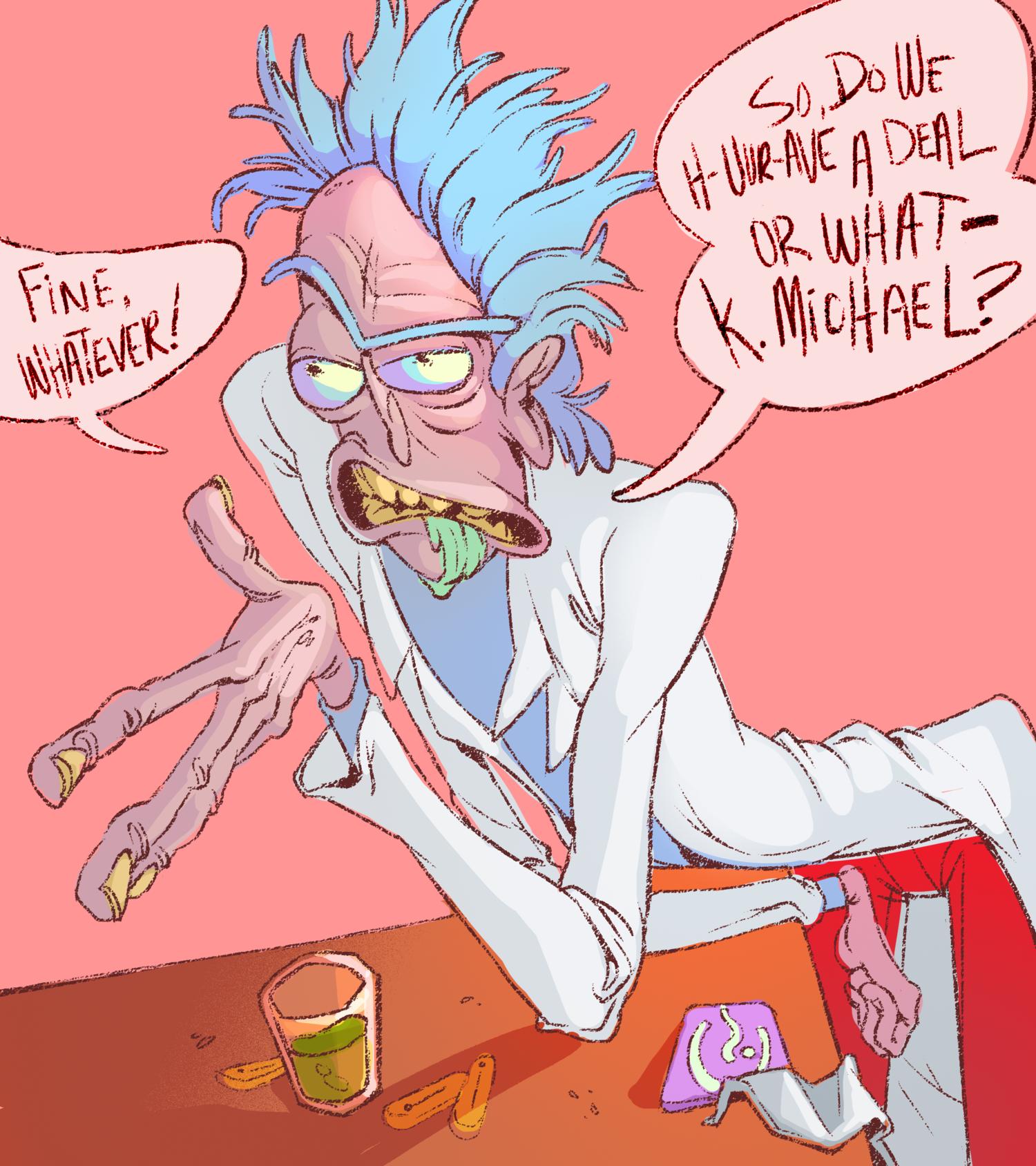 Deal Breaker - Rick and Morty Fan Art